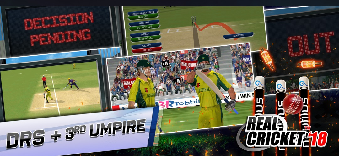 Real Cricket™ 18 - Online Game Hack and Cheat | TryCheat com