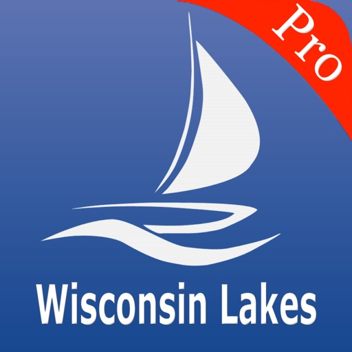 Wisconsin Lakes GPS Charts Pro