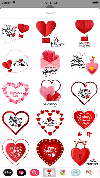 Love Stickers Valentine's Days screenshot 2