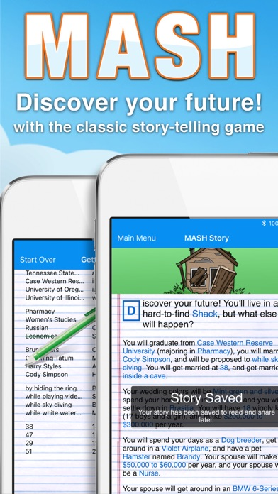 MASH Screenshots