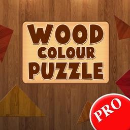 Wood Colour Puzzle PRO