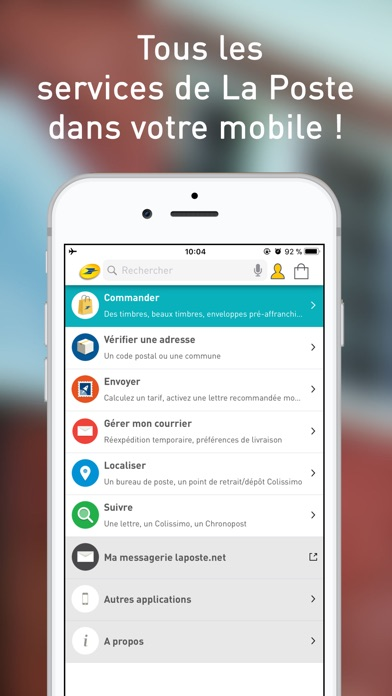 La poste services postaux app insight download for La poste suivi de courrier temporaire