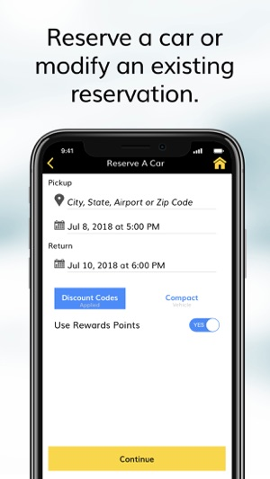 Hertz Car Rental on the App Store