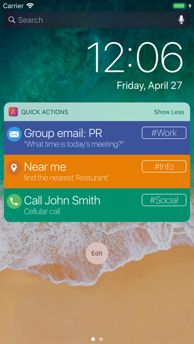 Actions Task Automation screenshot four