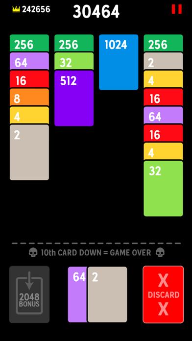 Twenty48 Solitaire screenshot 1