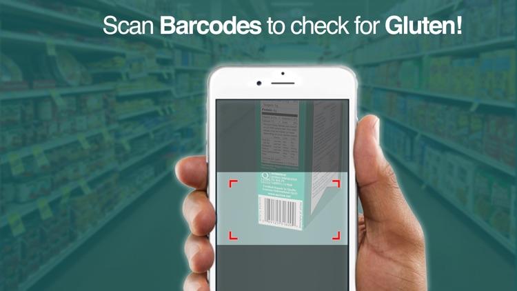 Gluten Free Barcode Scanner