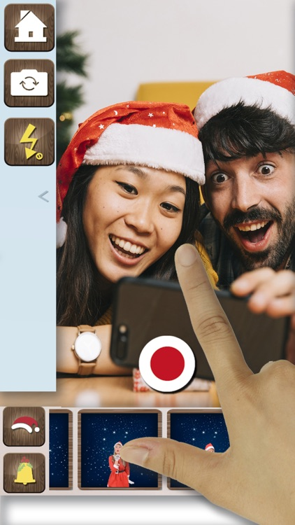 Your easy video with Santa