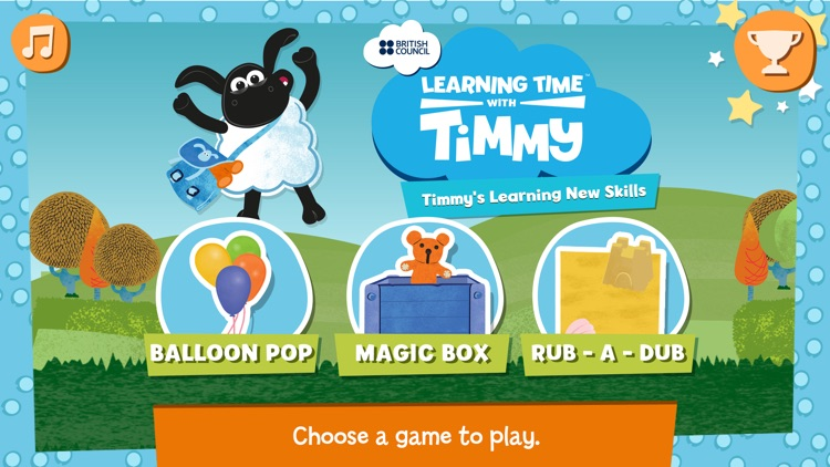 Timmy's First Words in English screenshot-0