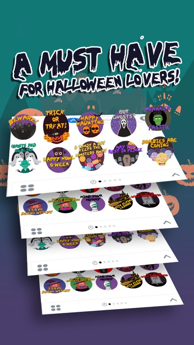 Scary HalloweenMoji Stickers screenshot 2