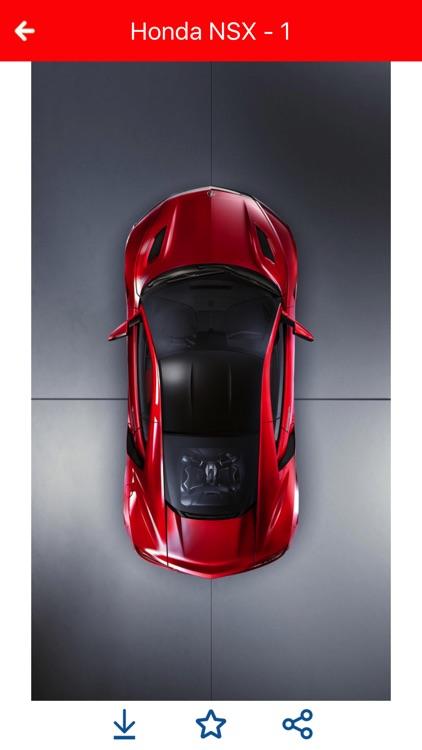 HD Car Wallpapers - Honda NSX Edition screenshot-4
