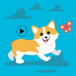 Cute Corgi Animated Emojis