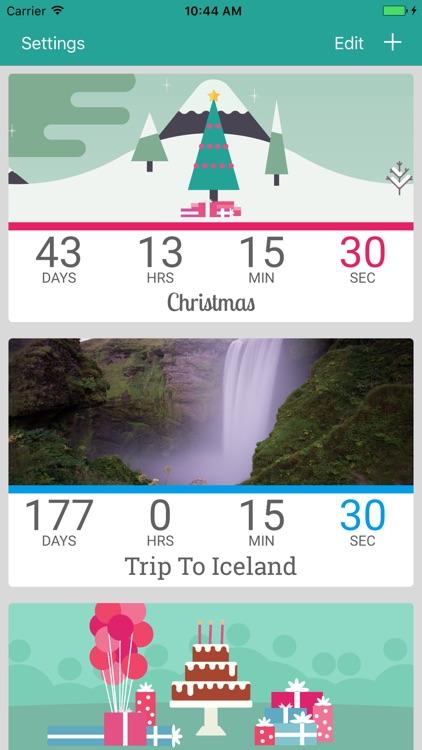 Countdown by timeanddate.com screenshot-0