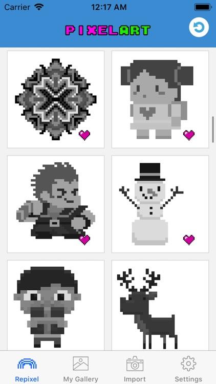 Pixel Art - Tap Number Picture screenshot-3