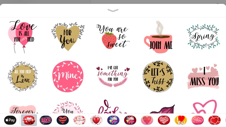 Love Valentine's Days Sticker