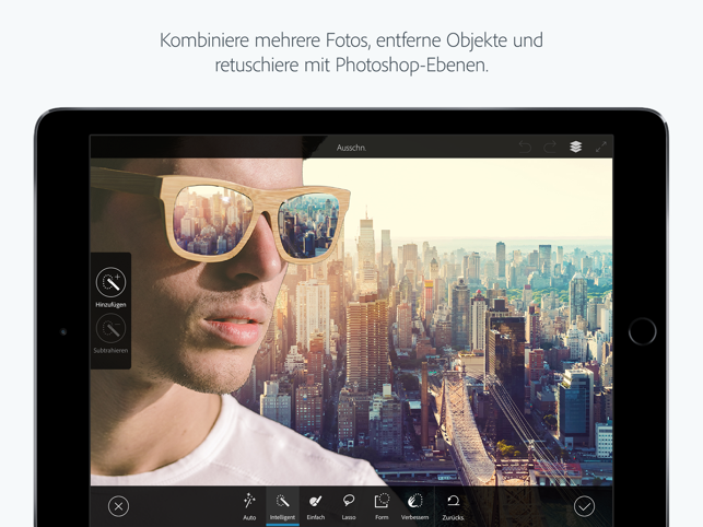 ‎Adobe Photoshop Mix-Fotomontagen und Collagen Screenshot