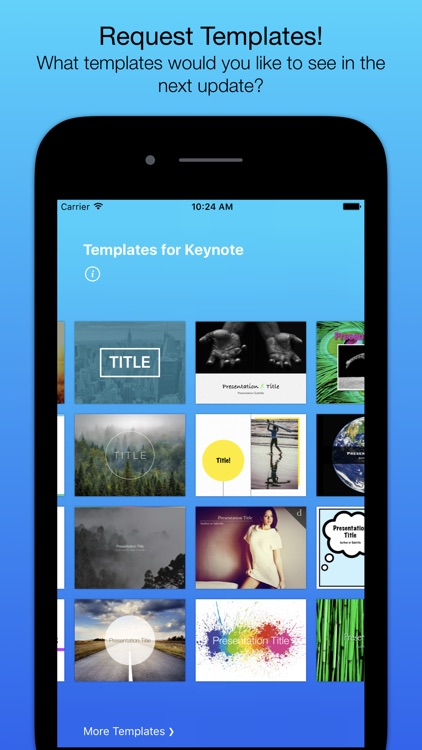 Templates for Keynote (Nobody) screenshot-4