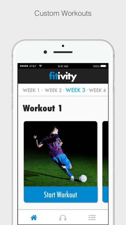 Fitivity Soccer Training screenshot-4