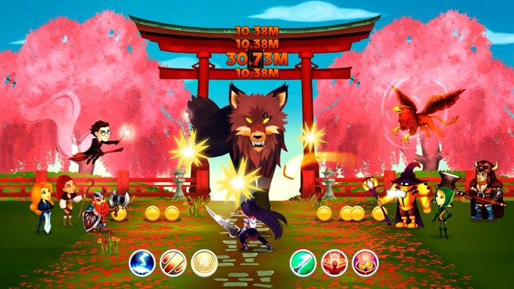 Tap Dragons - Clicker Heroes RPG Game screenshot-4