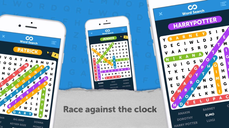 Infinite Word Search Puzzles screenshot-5