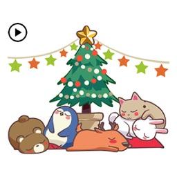 Animated Xmas Party Animals