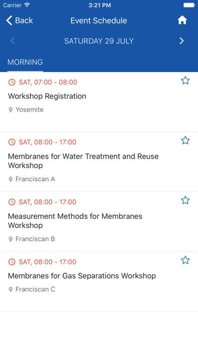 Elsevier Conferences App screenshot 5