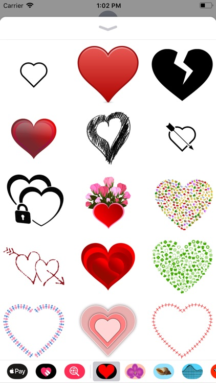 Only Heart Stickers screenshot-1