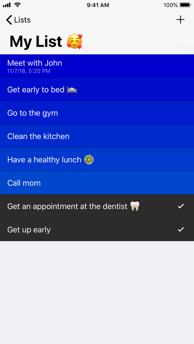 Next - Todo Manager screenshot two