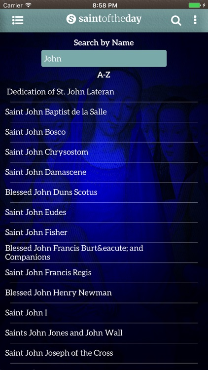 Saint of the Day screenshot-4