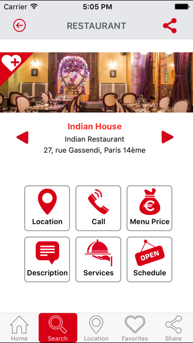 Best restaurants ParisScreenshot of 4