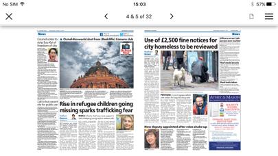 Oxford Mail screenshot four