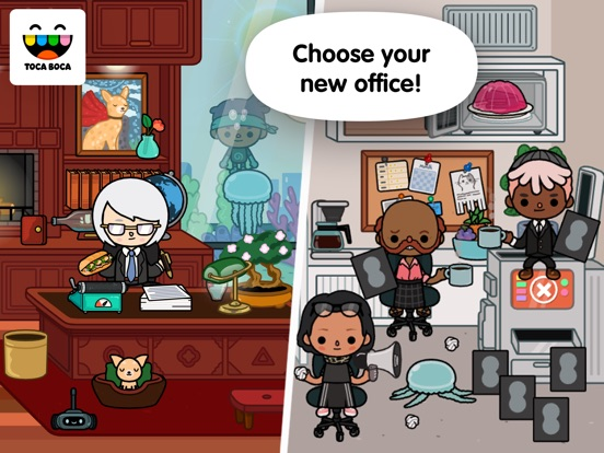 Toca Life: Office Screenshots