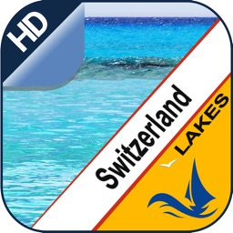 Switzerland Lakes offline nautical boaters charts