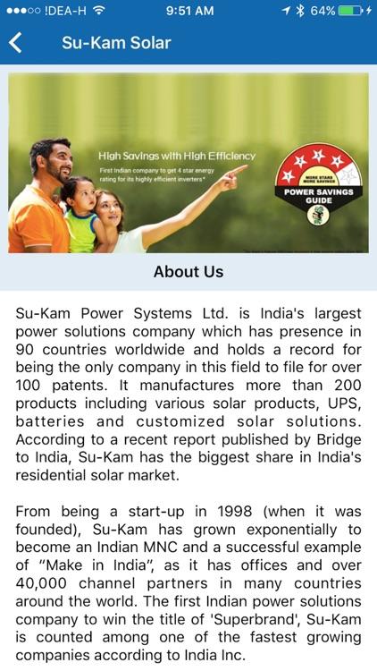 Su-Kam Product Catalog