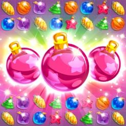 С новым годом - головоломка алмазы три в ряд