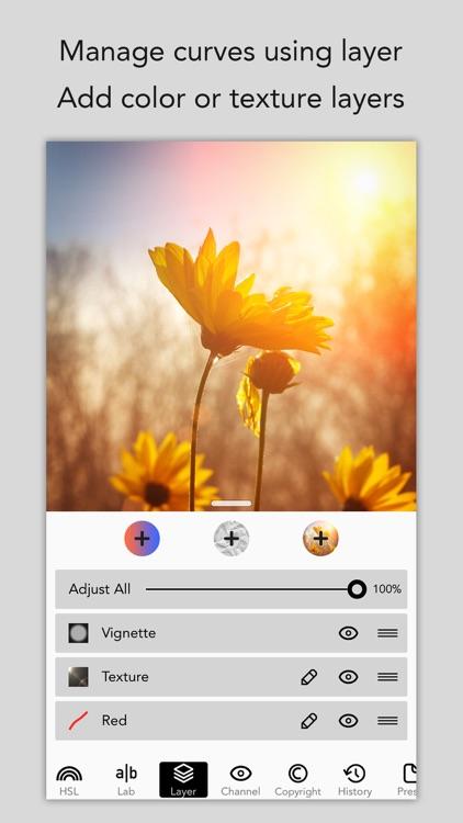 MaxCurve - Photo editor for pro photography screenshot-3