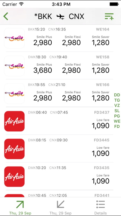 ThaiFlight+ screenshot-1