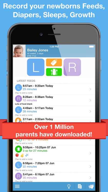 Feed Baby - Breastfeeding App screenshot-0