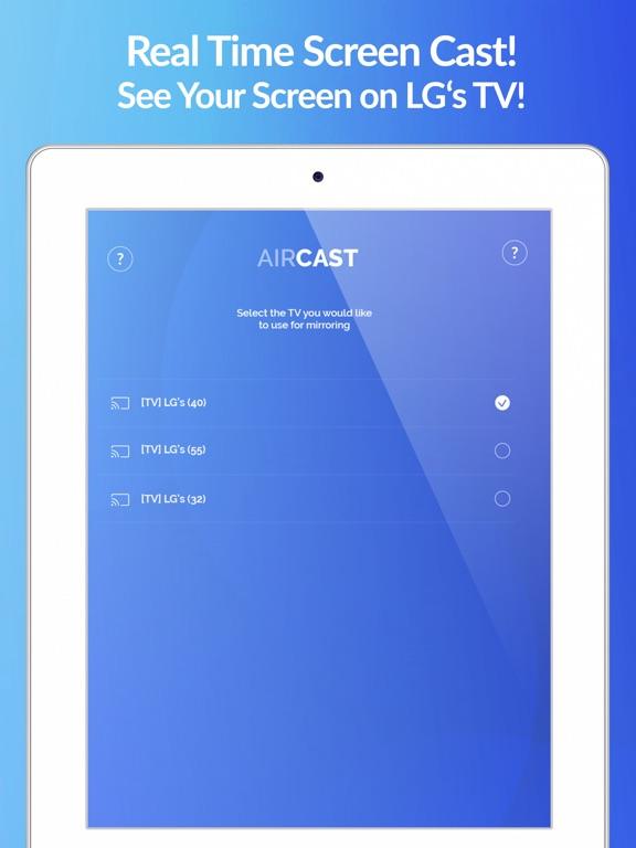 Air Cast - LG Smart TV Mirror Screenshots