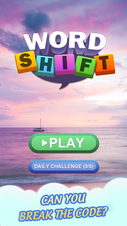 Word Shift-A Puzzle Word Game screenshot-4