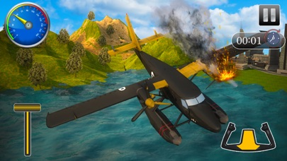 Flying Sea-Plane Games 2018-4