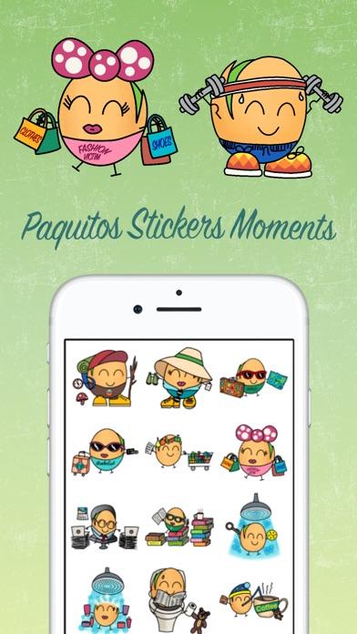 Paquitos Stickers: MomentsScreenshot von 1