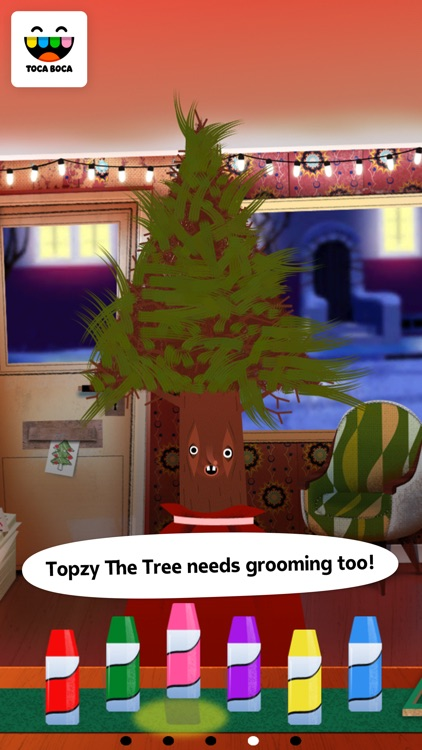 Toca Hair Salon - Christmas screenshot-3