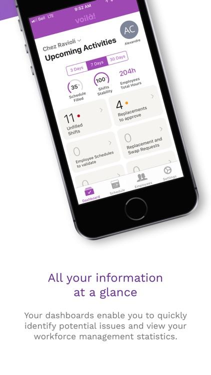 Voilà! - Employee Scheduling screenshot-4