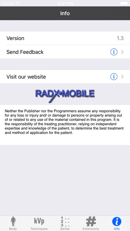 RadX Mobile screenshot-2