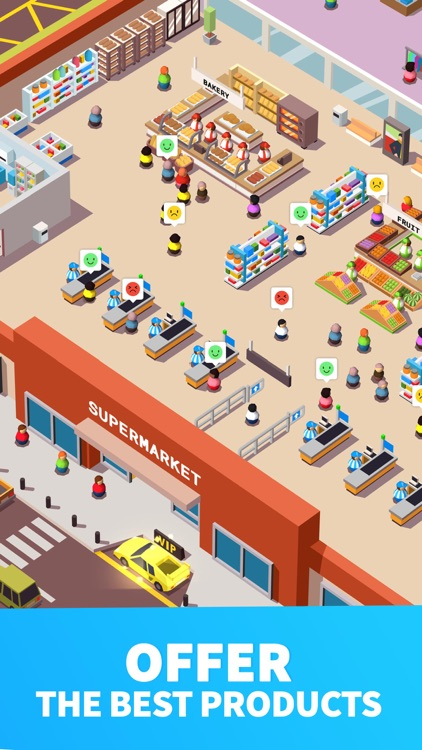 Idle Supermarket Tycoon - Shop screenshot-4