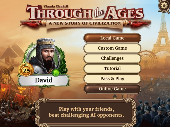 Through the Ages на iPad