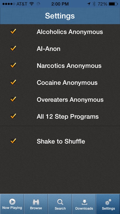 12 Steps Speakers - AA, NA, CA, OA, Al-Anon screenshot-4