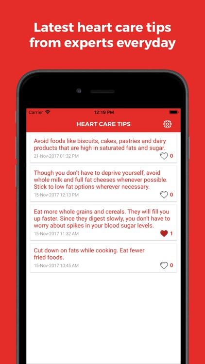 Heart Care & Diseases screenshot-3