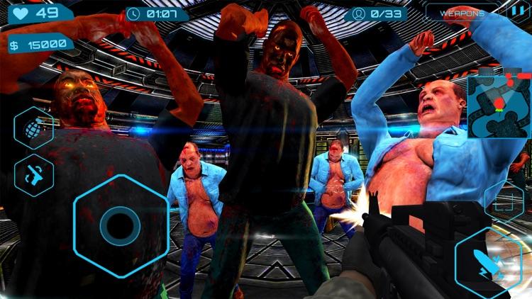 Zombies Slay Assassin ZG Pro screenshot-3