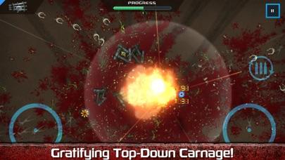 Screenshot from Crimsonland HD